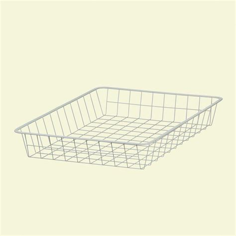 Closetmaid Wire Drawers closetmaid 21 in x 11 in x 17 in ventilated wire drawer 6210 the home depot