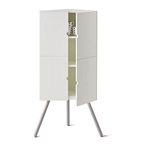 Ps Cabinet White by Ps 2014 Corner Cabinet White Grey 52x110 Cm