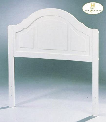 inexpensive twin headboards buy low price kid s white finish twin size panel headboard