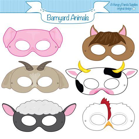 free printable animal eye masks this listing is for 6 printable mask jpg files that are