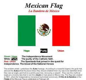 mexican flag colors meaning what is the meaning of the mexican flag questions and