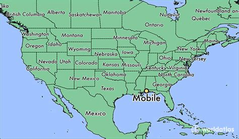 map mobile where is mobile al mobile alabama map worldatlas