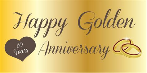 50th golden wedding anniversary : 50th golden wedding