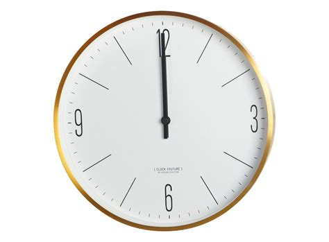 wall clocks buy house doctor wall clock couture gold lt0200 incl