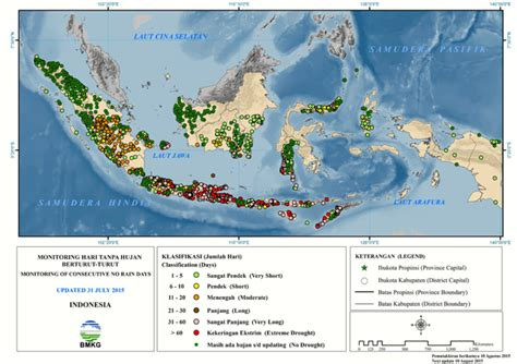 Air 128gb Di Indonesia peta kondisi kekeringan di indonesia sumber bmkg