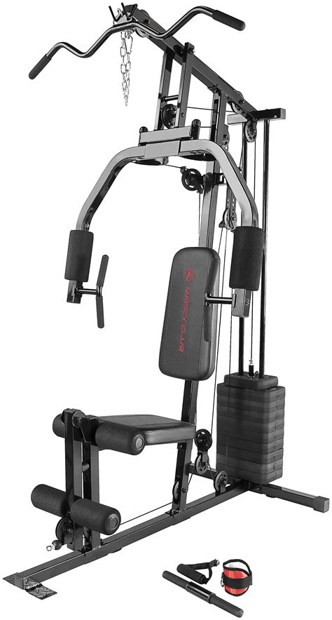 marcy 100 lb single stack home fitness sports