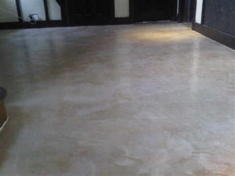 polished marble cement flooring and wall courses