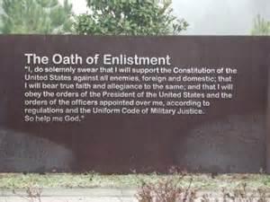 enlistment oath