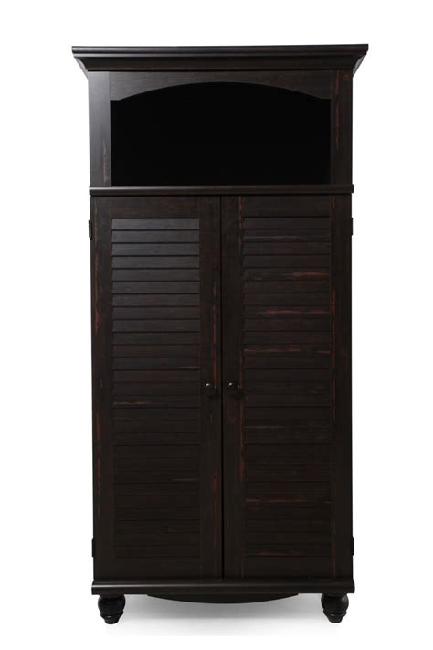 Sauder Computer Armoire Sauder Antique Black Computer Armoire Wishlist For Bedroom Pinter