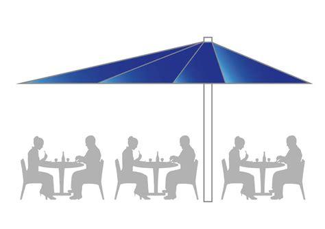 Patio Umbrella Big Ben   CARAVITA Commercial Patio Umbrellas