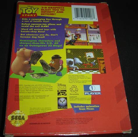toys sega genesis disney s story sega genesis complete with cardboard box