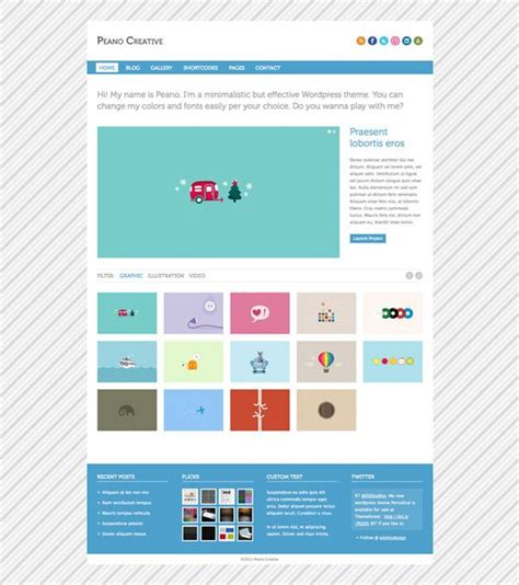 design inspiration wordpress 15 th 232 mes wordpress pour cr 233 er votre portfolio