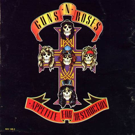 guns n roses appetite for self destruction and personal