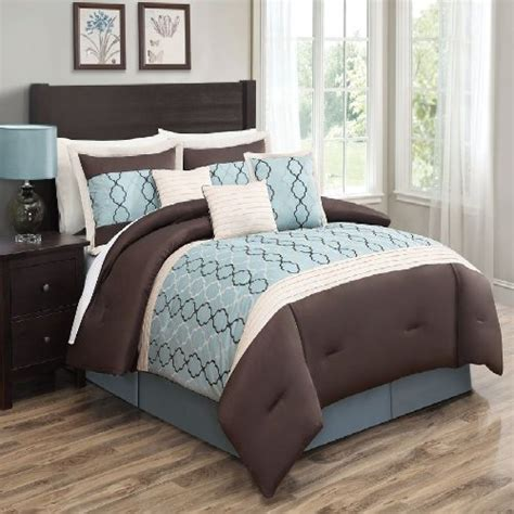blue brown comforter chocolate brown and blue bedding sets