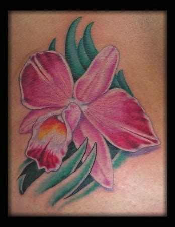 cattleya tattoo cattleya orchid by aaron goolsby tattoos