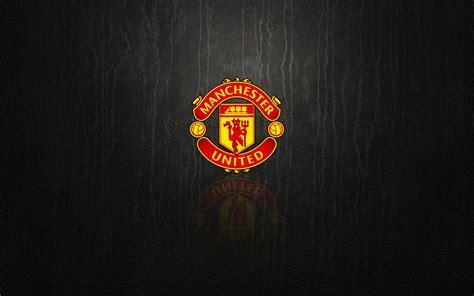 Utd Black manchester united logos