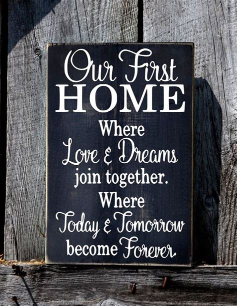 housewarming gift ideas for couple 2735 best hand crafted signs images on pinterest