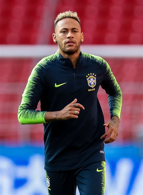 neymar jr neymar jr  brazil training  press