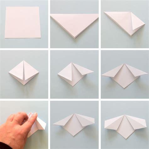 tutorial origami uccellino made in bottega blog creativo diy realizziamo dei