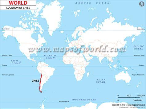 chile location on world map missmckinnonsmidzone chili