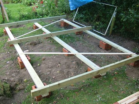 Foundation For Shed Base by Shed Foundation 1