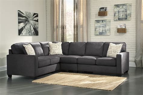 3 sectional sofa alenya charcoal 3 sectional sofa for 770 00