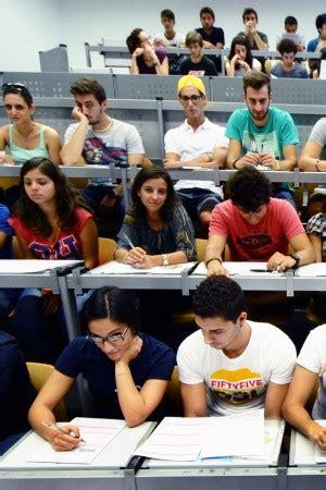 test d ingresso beni culturali universit 224 test d ingresso alla stessa ora e gli studenti