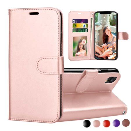 iphone xr 2018 iphone xr wallet cover iphone xr pu leather cases njjex wrist
