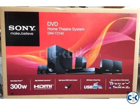 sony dav tz140 5 1ch 300w 1080p dvd home theater clickbd