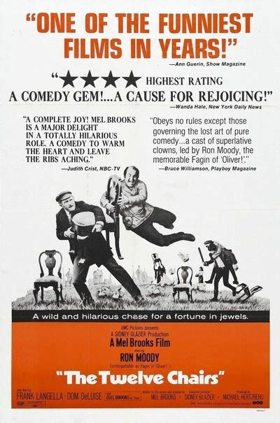 the twelve chairs review 1970 roger ebert