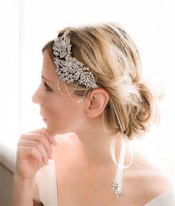 diy flapper hairst 1920s gatsby hairband vintage bridal rhinestone by