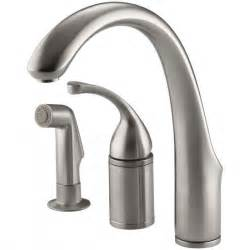 replacing single handle kitchen faucet new kohler single handle kitchen faucet repair best