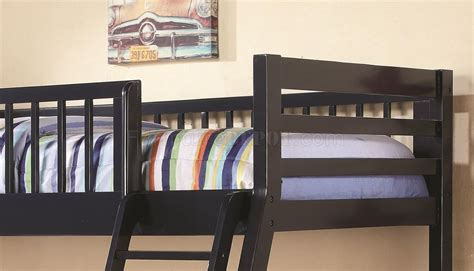 Navy Blue Bunk Bed Ashton 460181 Bunk Bed In Navy Blue By Coaster