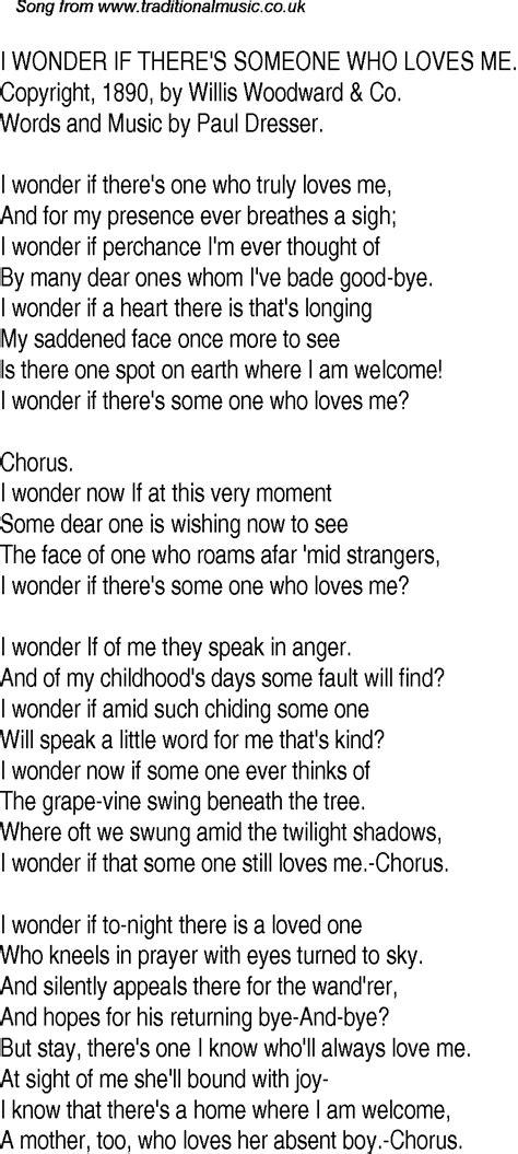 swing tree lyrics old time song lyrics for 28 i wonder if there s someone