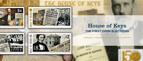 House of Keys Elections   Island Stamps and Coins