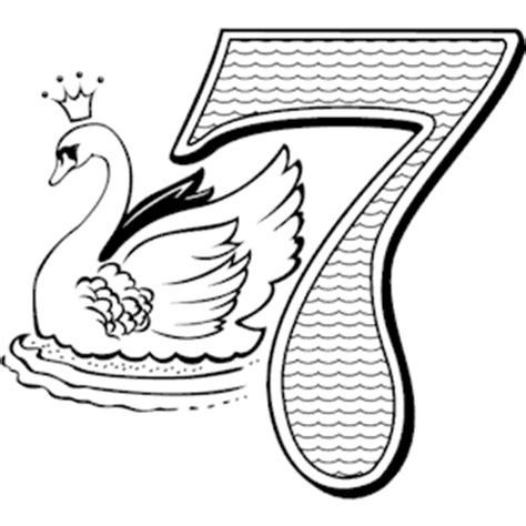 coloring pages zip file 07 swans clipart cliparts of 07 swans free wmf