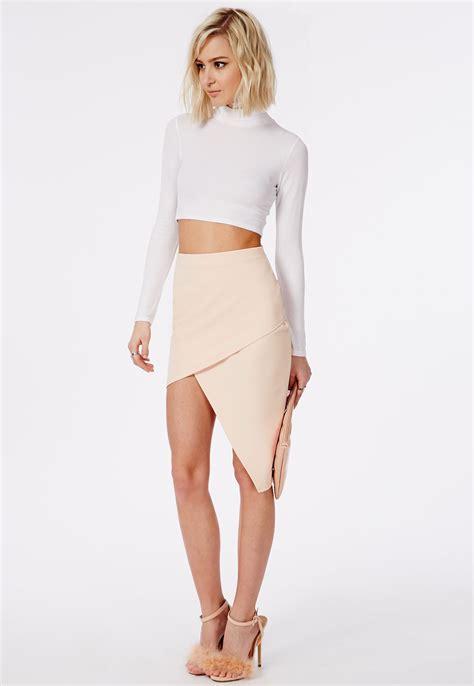 asymmetrical skirt dressed up