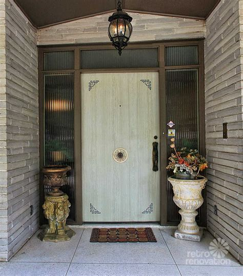 Impeccable 1972 Time Capsule House In San Antonio 33 Front Door Renovation