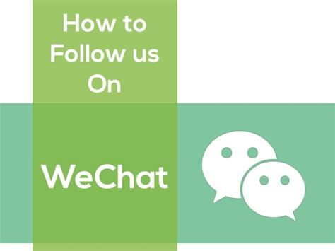 How To Search On Wechat How To Follow Us On Wechat