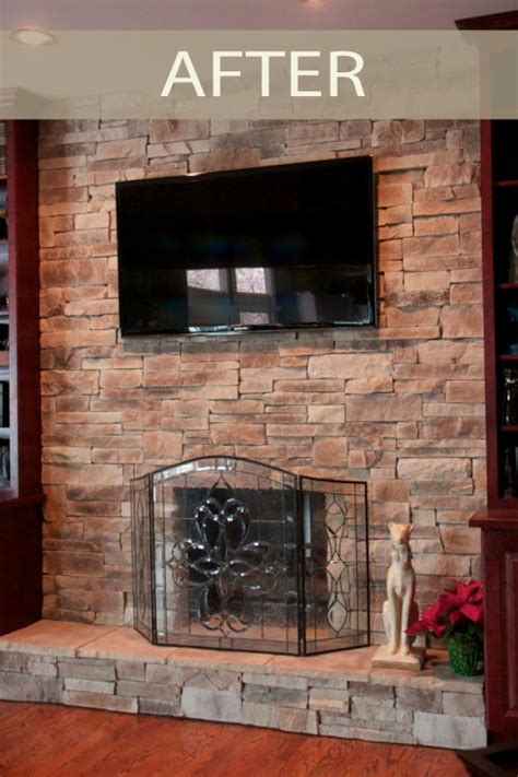 remodeling your two story fireplace north star stone before after stone fireplaces north star stone