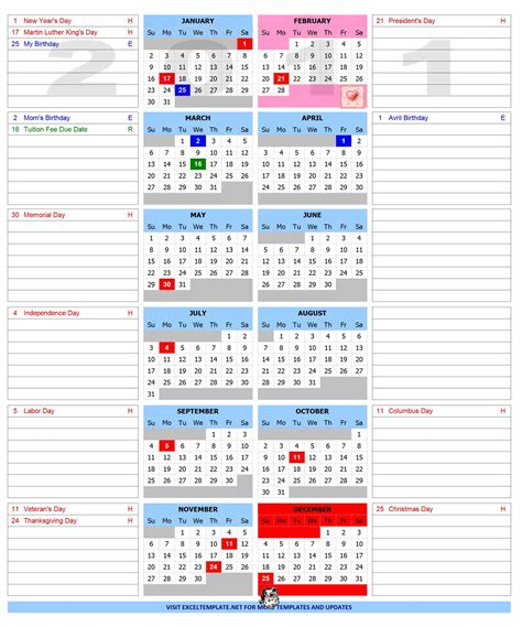 open office calendar template yearly calendar open office templates
