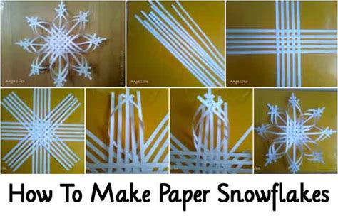 How To Make Paper Snoflakes - how to make paper snowflakes lil moo creations