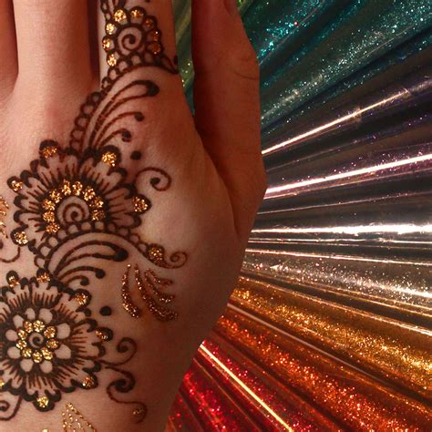 henna tattoo paint 12 colours glitter gel cone henna gilding