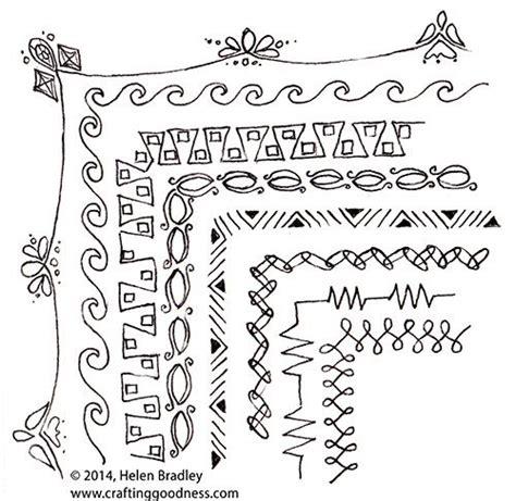 doodle pattern borders 25 best ideas about doodle borders on pinterest bible
