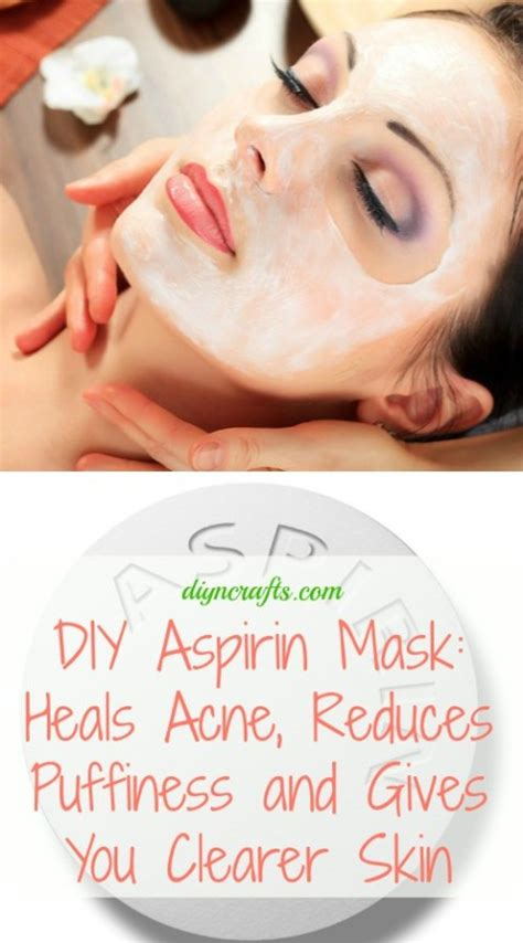 mask for acne diy diy aspirin mask heal acne reduces puffiness and gives you