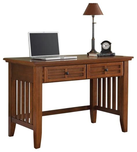 Desk Styles Traditional by Home Styles Arts And Crafts Student Desk Cottage Oak