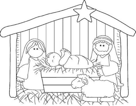 imagenes del nacimiento de jesus para pintar dibujos del nacimiento de jesus para colorear