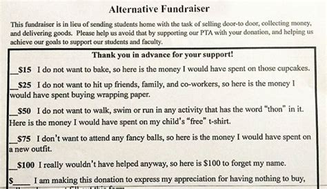 Fundraising Letter To Parents Give The Parents What They Want Classmunity