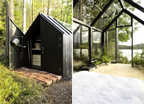 Solar Power For Sheds by Solar Powered Greenhouse In Finland Doubles As A Spare