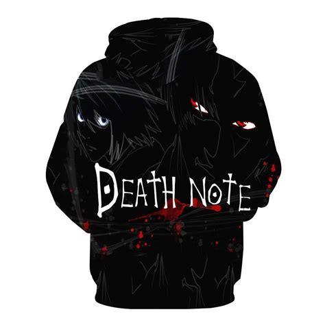 Hoodie Deathnote B W note hoodie jakkou hebxx